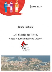 Guide des salariés des Hôtels, Cafés et Restaurants de Monaco